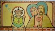 Oração pela família. 170x90cm. Acrylic Canvas. Vendido.