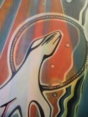Pregnancy Mary, 120x80cm. Acrylic Canvas. Disponível.