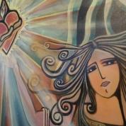 Mary Pregnancy, Epiphania. 80x120cm. Disponível