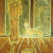 Bonus Pastor Pardo, ooxoocm. Acrylic Canvas. Vendido.