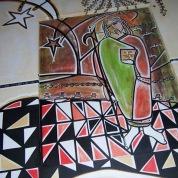 Judas, ooxoocm. Acrylic Canvas. Vendido.