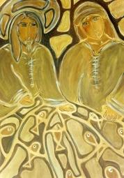 Pesca dos Milagres. ooxoocm. Acrylic Canvas. Vendido.