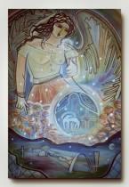 Anjo na Pampulha, 100x80.