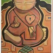 Budha, 70x40. Vendido.