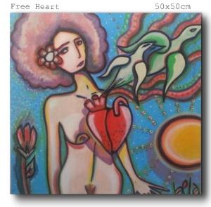 Free Heart, Exposição Londres/ Viena (2014)