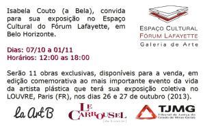 Expo, Lafayete, Flyer Revista Mais