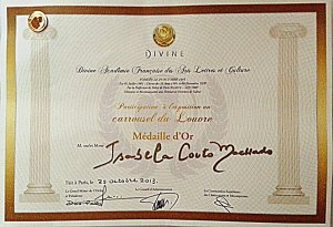 Certificado LOUVRE