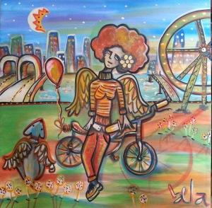 Bike Anjo > 80x80 cm